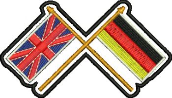 Union Jack/German Cross Flags